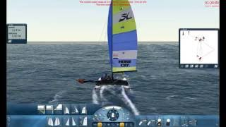 Sail Simulator 5 Racing the Hobie 16