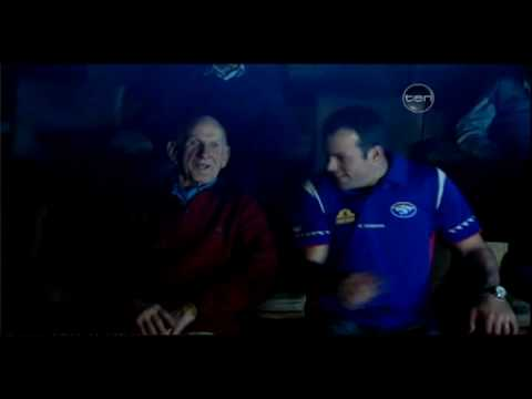 Footscray 1954 Premiership Players Watching Replay With Current Players