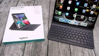 Logitech Slim Folio Pro - The Best iPad / iPad Pro Keyboard