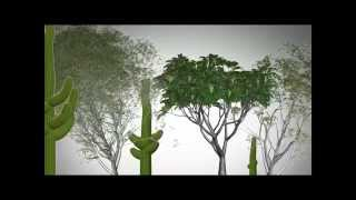 First Steps in plant growth - 3ds max 2012