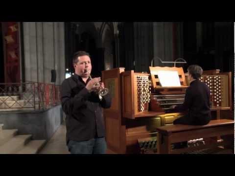 Bach- Concerto BWV 972 d'après Vivaldi- Romain Leleu trompette- Ghislain Leroy orgue