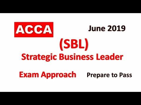SBL - Day 05 - June 2019 | ACCA Exam Approach Webinars | Strategic Business  Leader