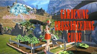 Final Fantasy XIV: ARR - Gardening & Crossbreeding (Commentary Guide)