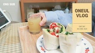 ENG • 집에서 먹고 일만 하는 집순이 자취생 일상 …