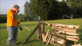 Flame Break Burn Resistance Test - Long Term