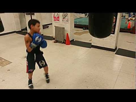 9 Year Old Boxing Champ