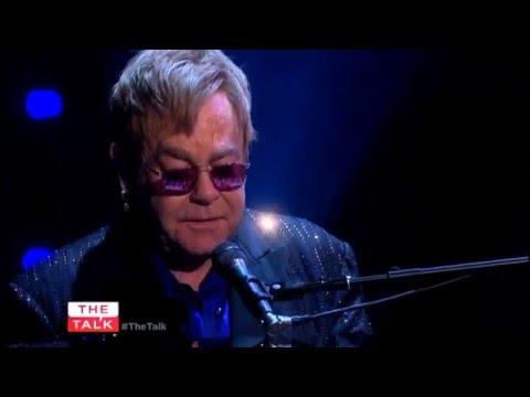 Elton John - Levon - The Talk Feb 26 2016