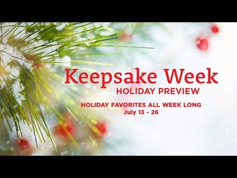 Hallmark Christmas In July Logo.Christmas Keepsake Week 2018 Hallmark Channel