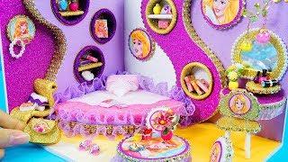 DIY Miniature Dollhouse Room ~ Aurora Room Decor, Backpack #23