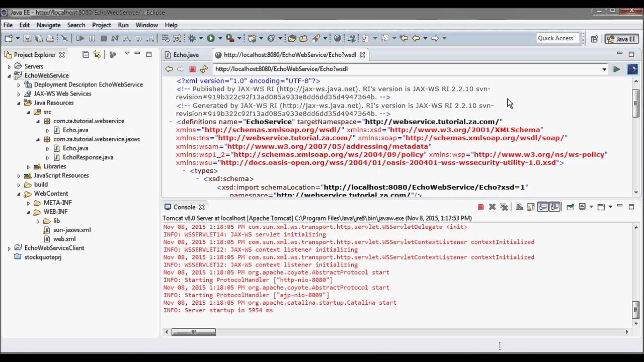 Java api for xml web services jax ws tutorial 02 youtube java api for xml web services jax ws tutorial 02 baditri Choice Image