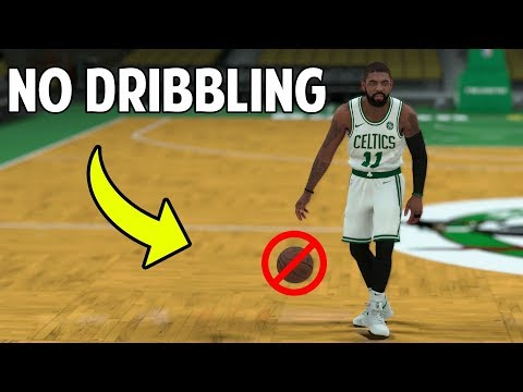 What If You Couldn't Dribble In The NBA? NBA 2K18 Challenge!