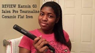 REVIEW: (+DEMO) Karmin G3 Salon Pro Tourmaline Ceramic Flat Iron/Hair Straightener