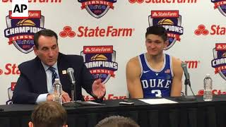 Coach K Gets Another Win Against Michigan State