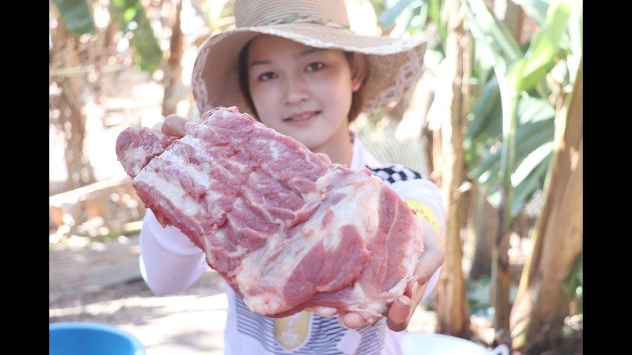 Crispy Pork Rib Recipe | Frying Crunchy Pork Rib | Easy Crispy Pork Rib | Village Cooking TV