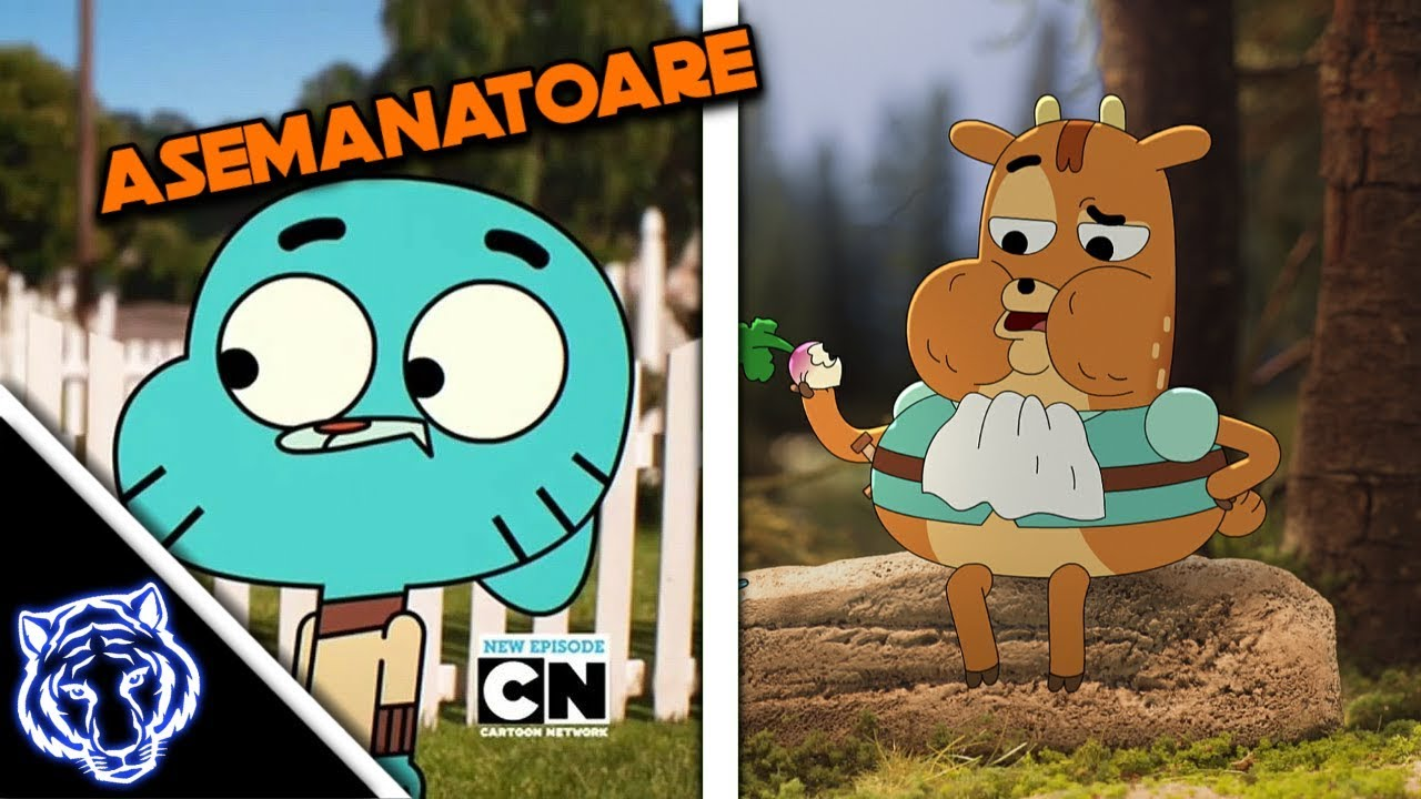 Top 5 Asemanari intre Desene Animate!