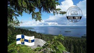 Womo Finnland Rundreise #4 - ⛺️CP im Wald, Koli NP & wissenswertes über den Winterkrieg