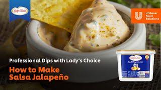 How to Make Salsa Jalapeño Mayo  UFS Philippines