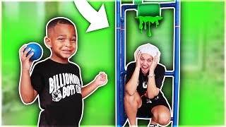 Download Dunk Tank Challenge Family Fun Activities With DJ's Clubhouse!! Mp3 and Videos