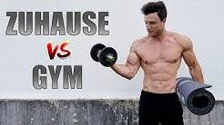 Home Workout VS. Fitnessstudio | Was ist besser?