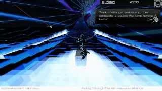 AudioSurf 2 gameplay PC 1080p