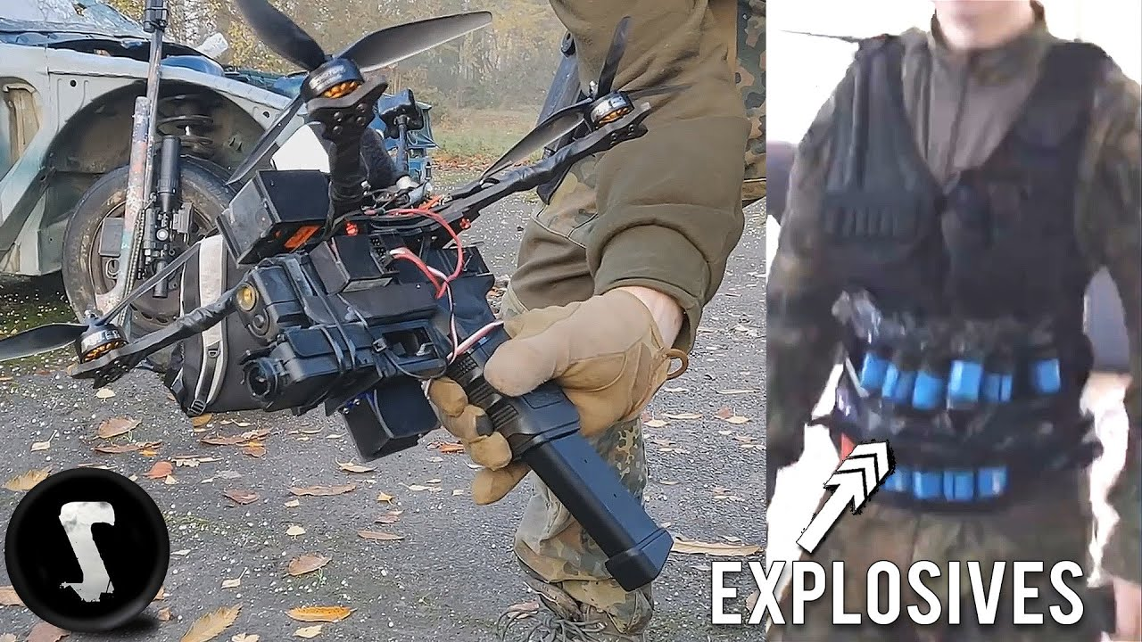 Top 9 Scary HOMEMADE Airsoft Weapons (Drone, RC/XD, Minigun & more)
