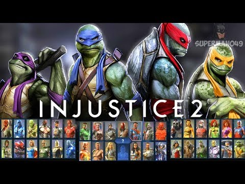 Injustice 2: Final Roster Amazing Or Bad? Rating Each Character Including DLC-Ninja Turtles Gameplay