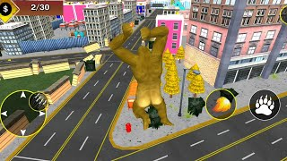 Best Dino Games - Gorilla City Rampage: Angry Animal Attack Game Android Gameplay screenshot 1