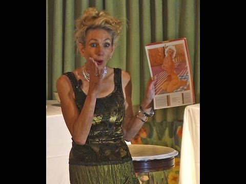 Elizabeth Stewart does a Roadshow at the  Madonna Inn