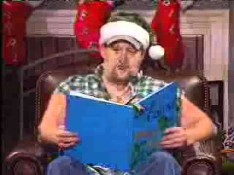 Santa Claus Larry the cable guy