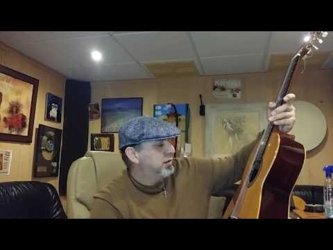 Guitarra de antigua casa dotesio Unión Musical española