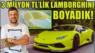 3 Milyon TL'lik Lamborghini Huracan'ı Boyadık!