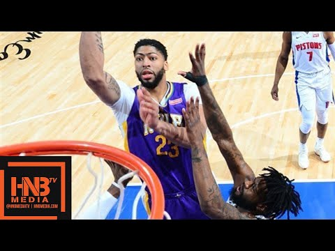 New Orleans Pelicans vs Detroit Pistons Full Game Highlights / Feb 12 / 2017-18 NBA Season