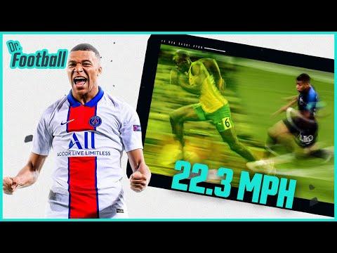 How does Kylian Mbappé run so fast? | Doctor Football