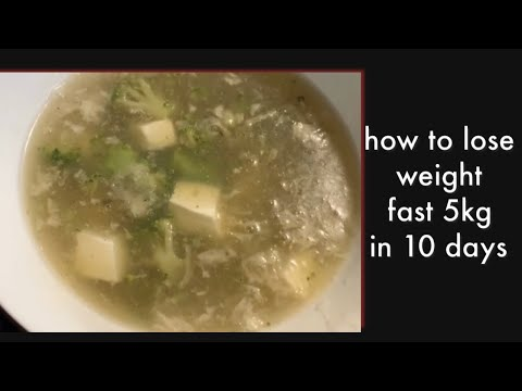 how to lose weight fast 5kg in 10 days