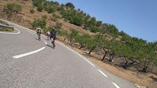 60 Minute Sunshine Cycling Motivation Training Spain 2018 4K Workout