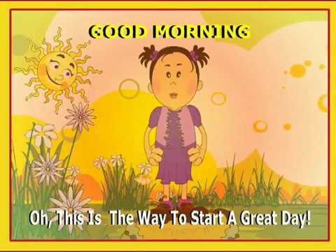 Kids Song - Good Morning to You - YouTube