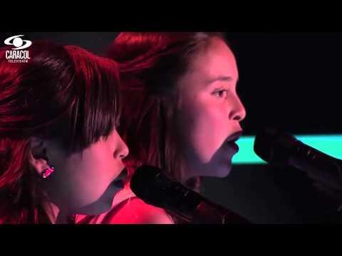 Valentina y Ana María cantaron 'Libre soy' de R. López – LVK Colombia – Audiciones a ciegas – T1