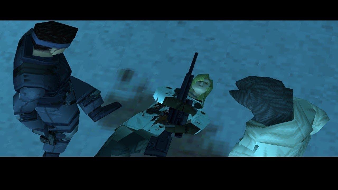 Risultato immagini per metal gear solid 1 sniper wolf morte