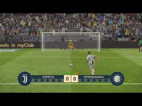 JUVENTUS vs INTER | Italy SERIE A TIM | Penalty Shootout !!!
