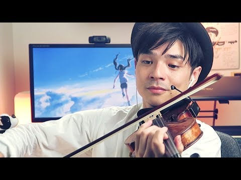 radwimps---weathering-with-you-|-愛にできることはまだあるかい-[violin-cover]-[8d-audio]-【julien-ando】