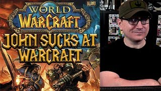 Play And Chat - John Playing Warcraft And Chatting