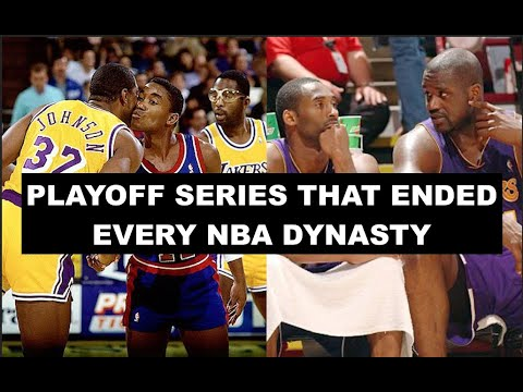 Download 10 Playoff Series That Said Goodbyes To NBA Dynasties