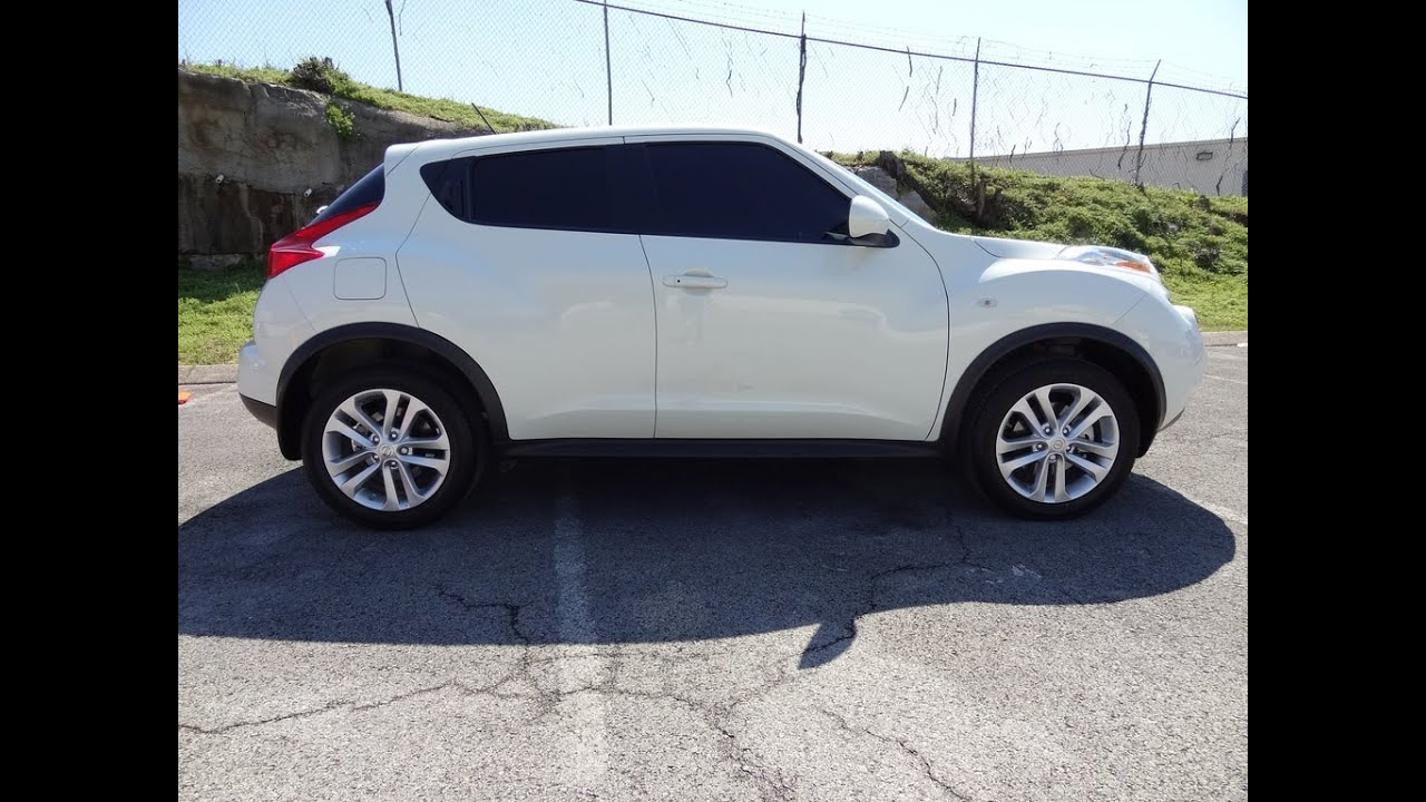 2012 Nissan Juke 3800 Miles Fwd Pearl White One Owner At