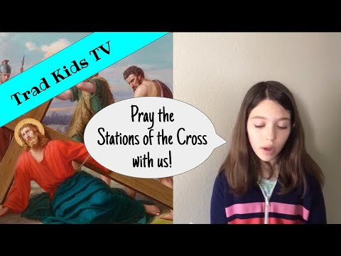 Stations of the Cross for Kids Good Friday Lent St Alphonsus Ligouri Traditional Catholic Faith