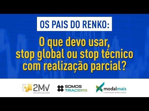 Webinar: o que devo usar, stop global ou stop técnico com realização parcial?