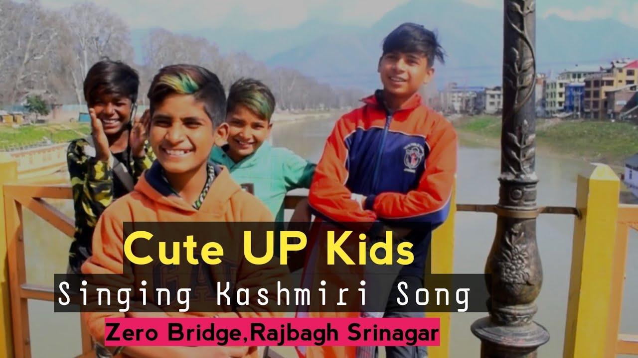 Download Zero Bridge - Rajbagh Srinagar   Kids From UP Singing Kashmiri Song - Kashmir - Kashmiriyat