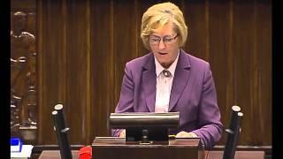 Genowefa Tokarska - wystąpienie z 8 października 2015 r.