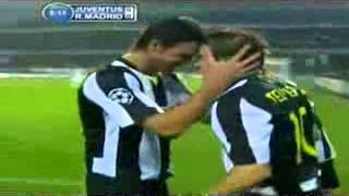 هدف ديل بيرو الرائع في ريال مدريد (اجمل اهداف 2008)