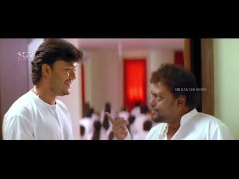 Ganesh and Sadhu Kokila Meditation Class Comedy Scenes | Ullasa Utsaha Kannada Movie Part-2