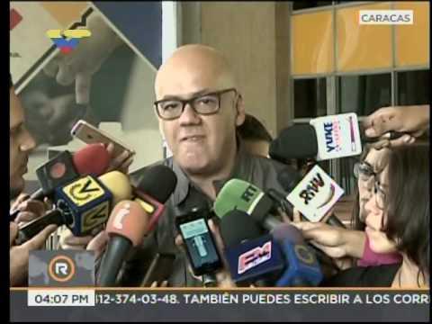 Jorge Rodríguez: Solicitamos al CNE realización de 100% de auditorías para desmentir a SmartMatic